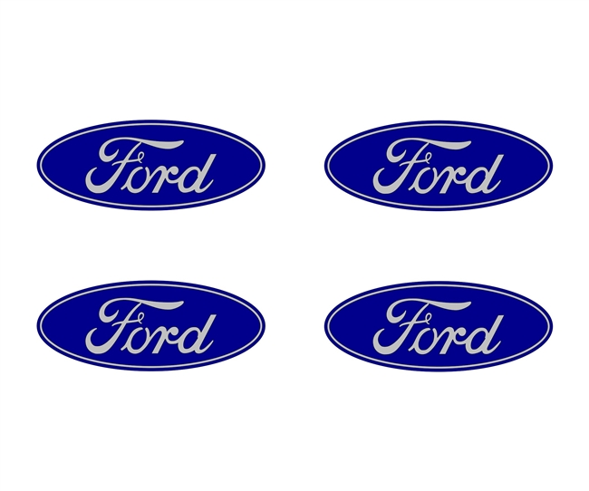 Ford Oval Center Cap Overlays